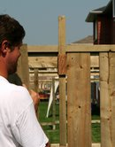 fence, privacy fence, fence spacer,building a fence, how to