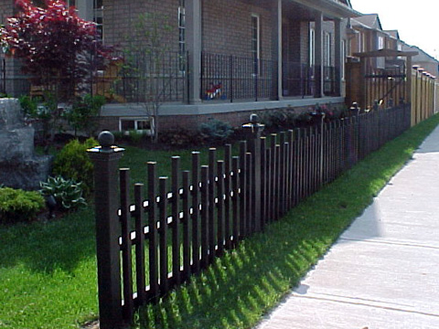 Front Yard Fence Pictures